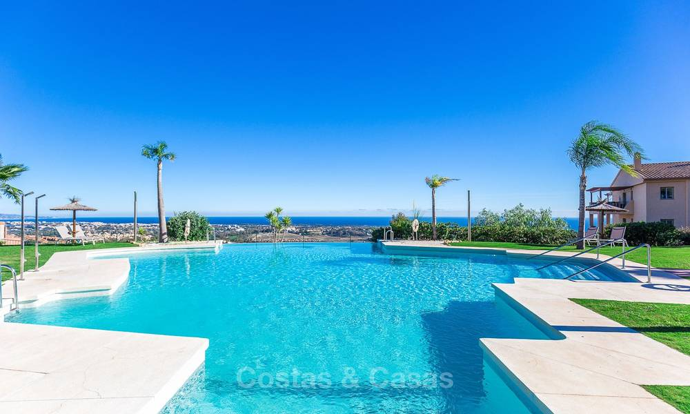 Luxury penthouse apartment with amazing panoramic sea and mountain views for sale, Benahavis, Marbella 10549