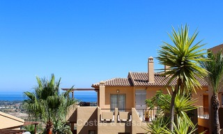 Luxury corner penthouse apartment with stunning panoramic sea, golf and mountain views for sale, Benahavis, Marbella 10553