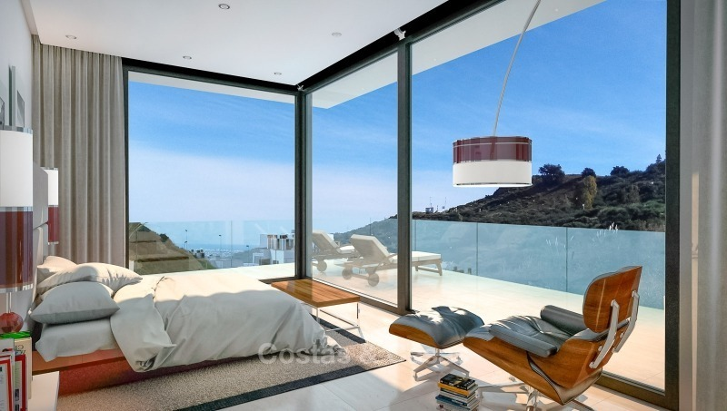 Distinguished new contemporary villa with amazing sea views for sale, Mijas, Costa del Sol 10611