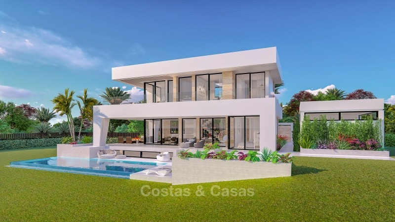 Distinguished new contemporary villa with amazing sea views for sale, Mijas, Costa del Sol 10612