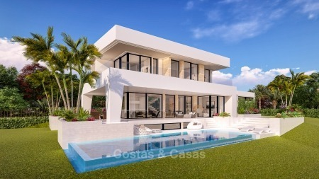 Distinguished new contemporary villa with amazing sea views for sale, Mijas, Costa del Sol 10613
