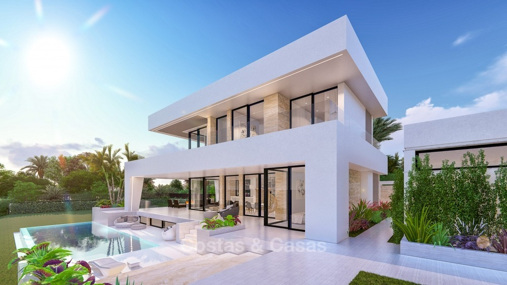 Distinguished new contemporary villa with amazing sea views for sale, Mijas, Costa del Sol 10614