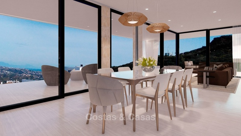 Distinguished new contemporary villa with amazing sea views for sale, Mijas, Costa del Sol 10615