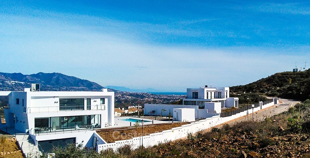Distinguished new contemporary villa with amazing sea views for sale, Mijas, Costa del Sol 10616