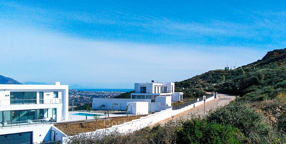Distinguished new contemporary villa with amazing sea views for sale, Mijas, Costa del Sol 10844
