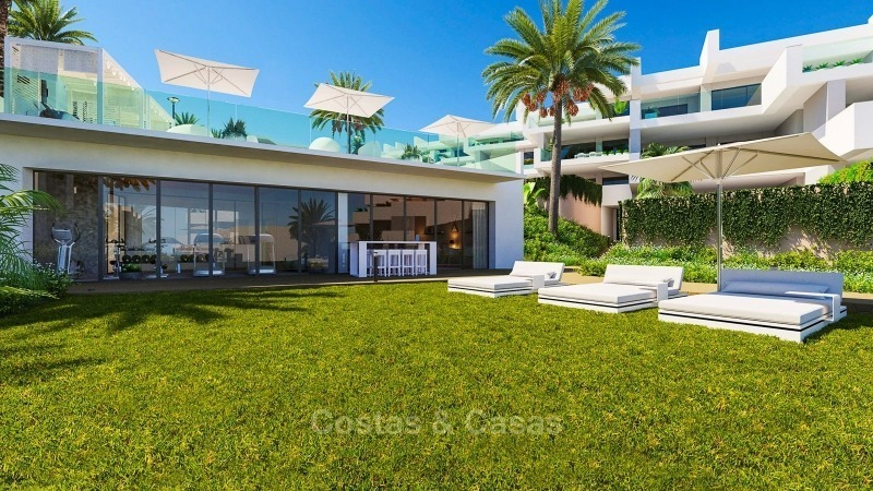 Modern contemporary luxury apartments with stunning sea views for sale, walking distance from the beach, La Duquesa, Manilva, Costa del Sol 10826