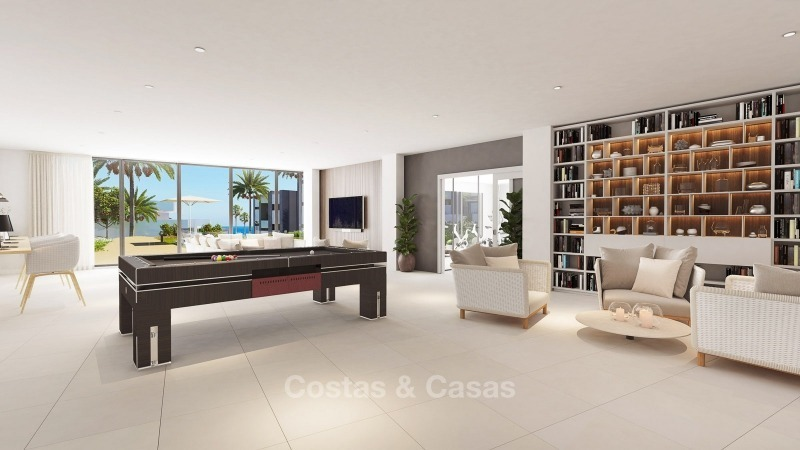 Modern contemporary luxury apartments with stunning sea views for sale, walking distance from the beach, La Duquesa, Manilva, Costa del Sol 10833