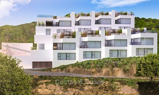 Charming, excellent value new townhouses for sale in Benahavis town centre 10983