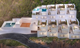 Charming, excellent value new townhouses for sale in Benahavis town centre 10984