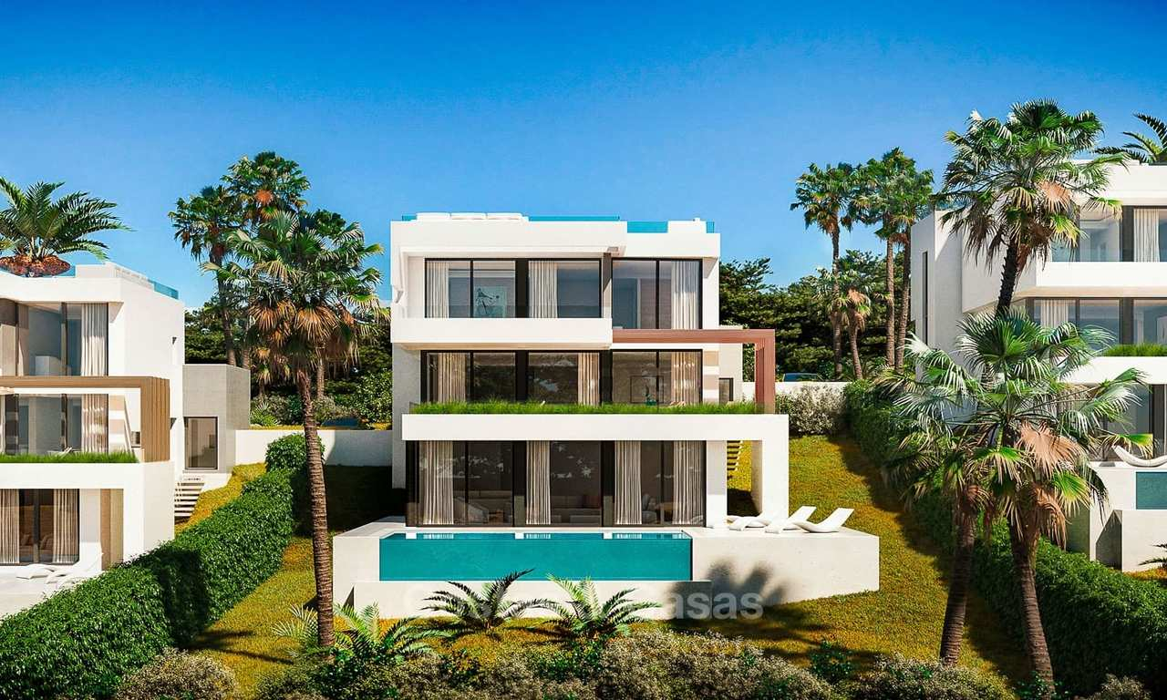 New, exclusive, modern luxury villas in a prime golf resort for sale, Mijas, Costa del Sol 10989