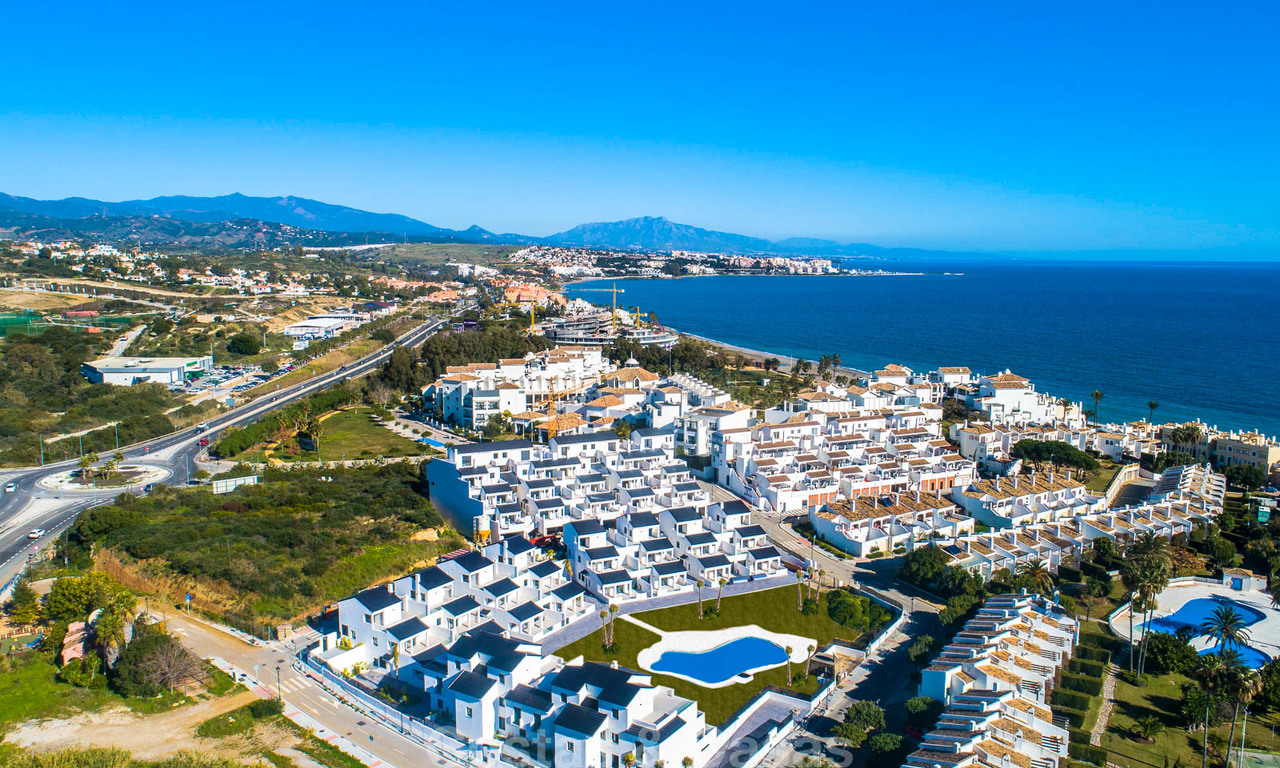 New modern beachside apartments for sale, ready to move in, Estepona 11015