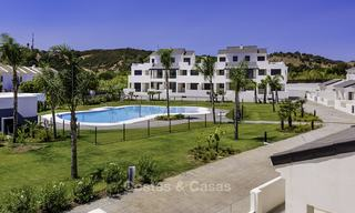 New modern beachside apartments for sale, ready to move in, Estepona 17091