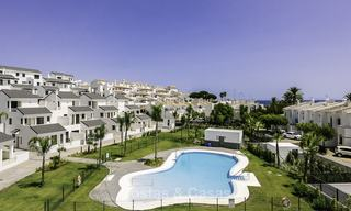 New modern beachside apartments for sale, ready to move in, Estepona 17102