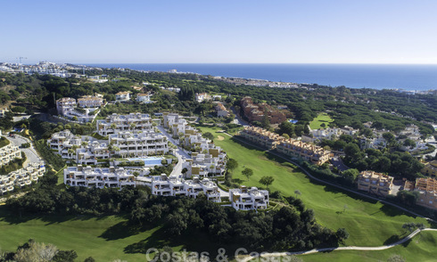 Brand new modern luxury apartments with sea views for sale, frontline golf, Marbella 11604