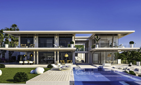 Modern new build villa for sale on the Costa del Sol 11582