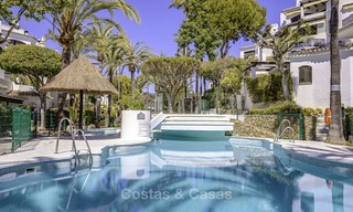 Amazing renovated luxury apartment with huge terrace for sale in a beachfront complex – Elviria, Marbella 11702