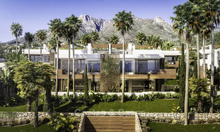 Luxurious contemporary designer villas with breath taking sea views for sale - Sierra Blanca, Golden Mile, Marbella 11492