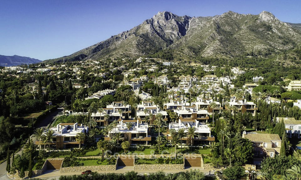 Luxurious contemporary designer villas with breath taking sea views for sale - Sierra Blanca, Golden Mile, Marbella 11493