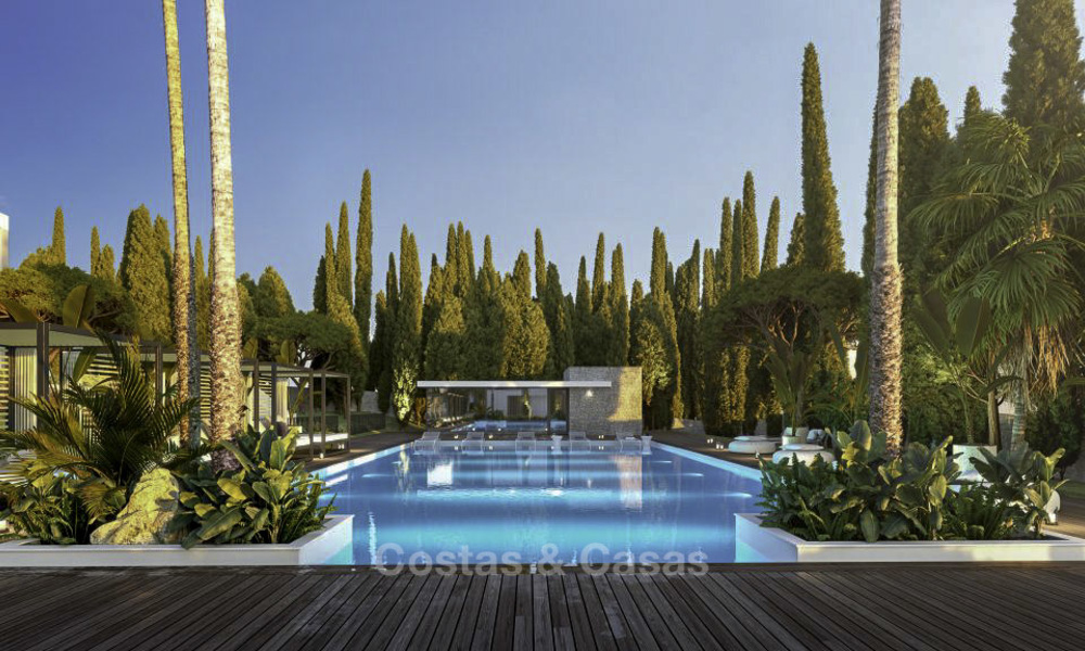 Luxurious contemporary designer villas with breath taking sea views for sale - Sierra Blanca, Golden Mile, Marbella 11494