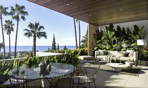 Luxurious contemporary designer villas with breath taking sea views for sale - Sierra Blanca, Golden Mile, Marbella 11500