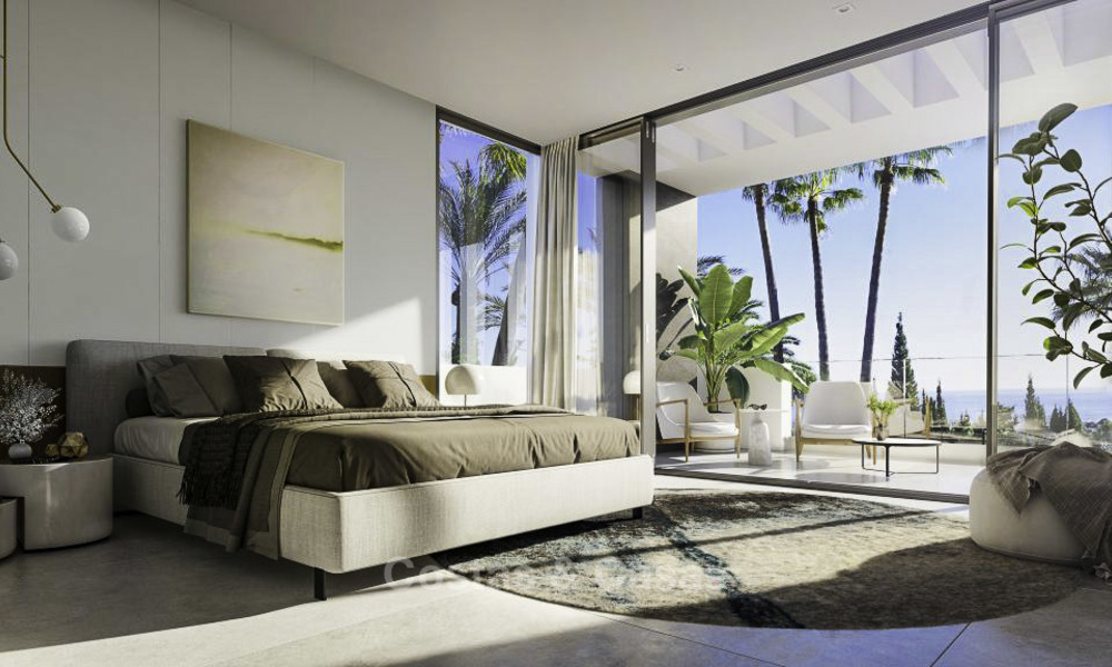 Luxurious contemporary designer villas with breath taking sea views for sale - Sierra Blanca, Golden Mile, Marbella 11501