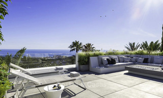 Luxurious contemporary designer villas with breath taking sea views for sale - Sierra Blanca, Golden Mile, Marbella 11503