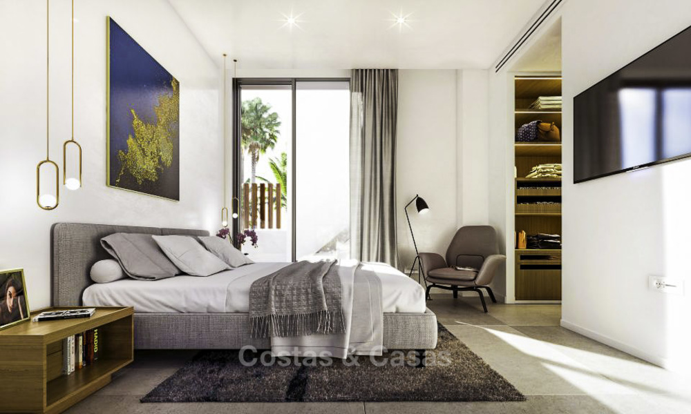 Luxurious contemporary designer villas with breath taking sea views for sale - Sierra Blanca, Golden Mile, Marbella 11505