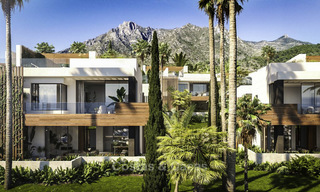 Luxurious contemporary designer villas with breath taking sea views for sale - Sierra Blanca, Golden Mile, Marbella 11515
