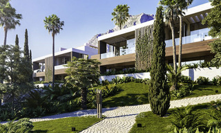 Luxurious contemporary designer villas with breath taking sea views for sale - Sierra Blanca, Golden Mile, Marbella 11517