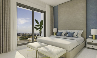 Spacious new modern townhouses with sea views for sale, New Golden Mile between Marbella and Estepona 11590