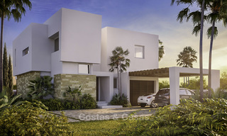 Exclusive contemporary golf villas with stunning golf and sea views for sale - East Marbella 15958
