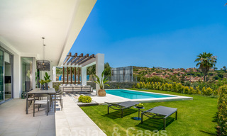 Exclusive contemporary golf villas with stunning golf and sea views for sale - East Marbella 26708