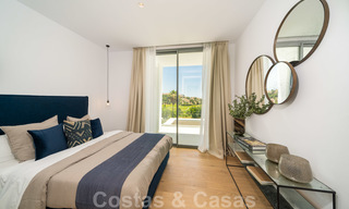 Exclusive contemporary golf villas with stunning golf and sea views for sale - East Marbella 26710