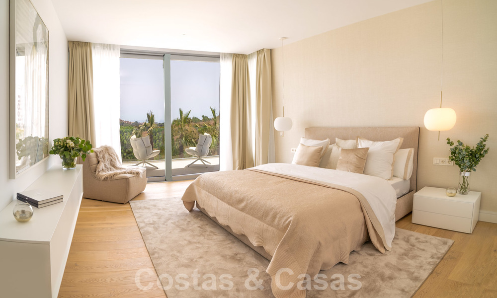 Exclusive contemporary golf villas with stunning golf and sea views for sale - East Marbella 26716