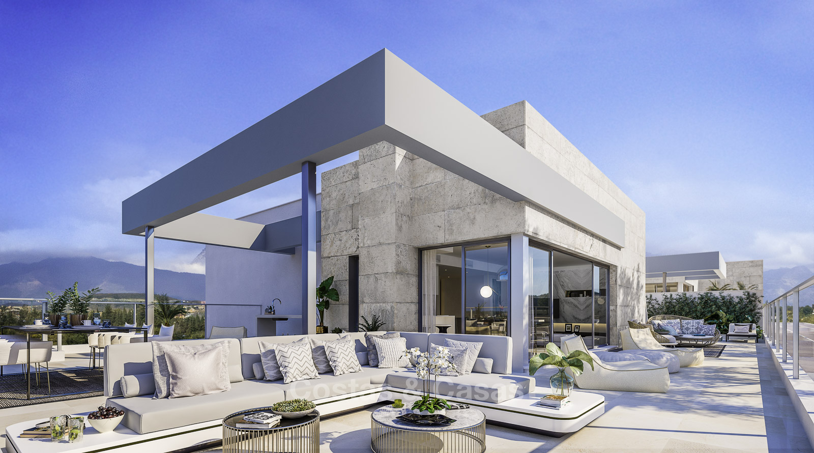 Contemporary Apartments For Sale New Golden Mile Estepona Marbella