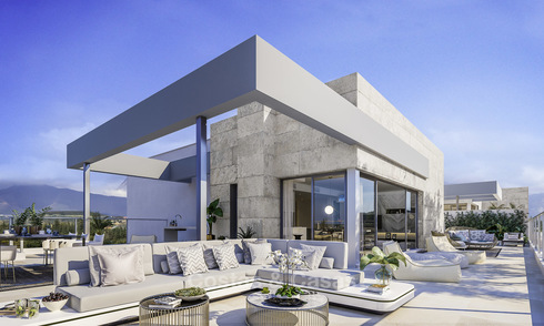 Stylish contemporary apartments for sale on the New Golden Mile, between Estepona and Marbella 11903