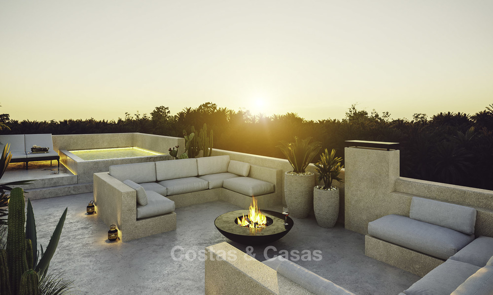 Exquisite modern luxury villa for sale, beachside Los Monteros, East Marbella 11747