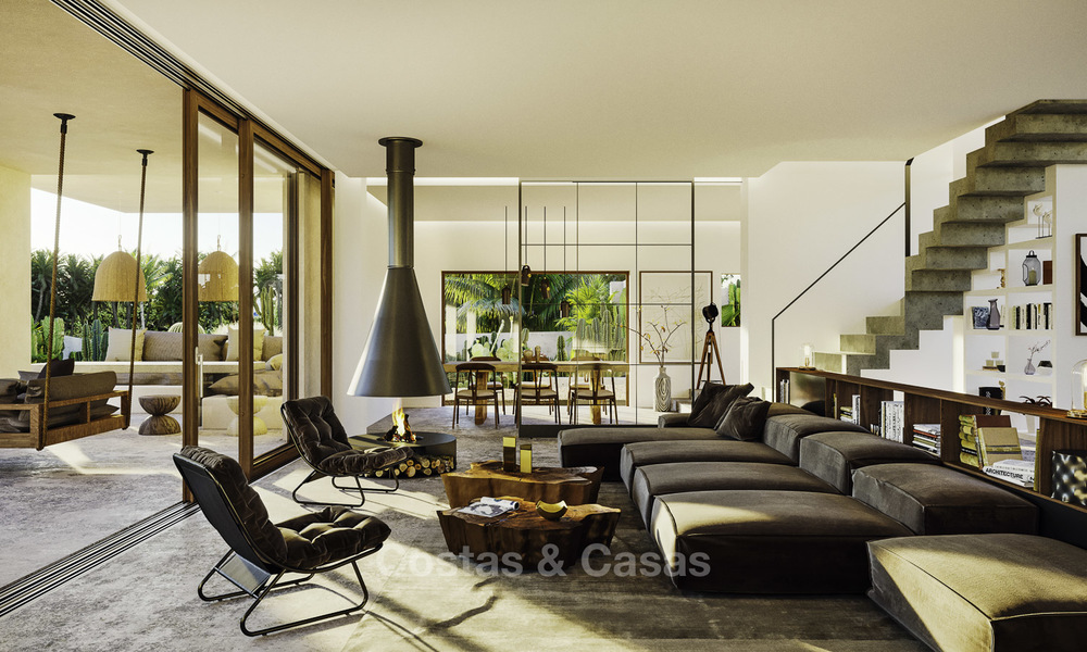 Exquisite modern luxury villa for sale, beachside Los Monteros, East Marbella 11749