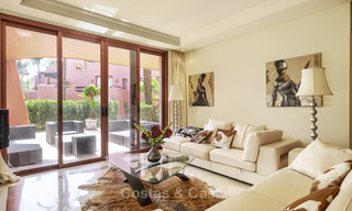 Attractive, spacious apartment in an exclusive beachfront complex for sale, between Marbella and Estepona 11759
