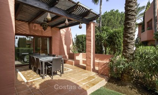 Attractive, spacious apartment in an exclusive beachfront complex for sale, between Marbella and Estepona 11773