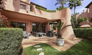 Attractive, spacious apartment in an exclusive beachfront complex for sale, between Marbella and Estepona 11776