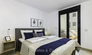 Fully renovated beachside luxury apartments for sale, ready to move into, in the centre of Puerto Banus, Marbella 11888