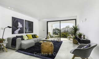 Fully renovated beachside luxury apartments for sale, ready to move into, in the centre of Puerto Banus, Marbella 11892