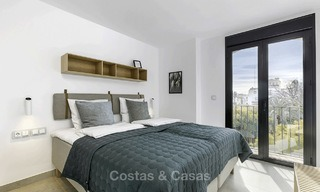 Fully renovated beachside luxury apartments for sale, ready to move into, in the centre of Puerto Banus, Marbella 11902