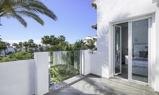 Modern, fully renovated apartment in a beachside complex for sale, New Golden Mile, between Marbella and Estepona 12233