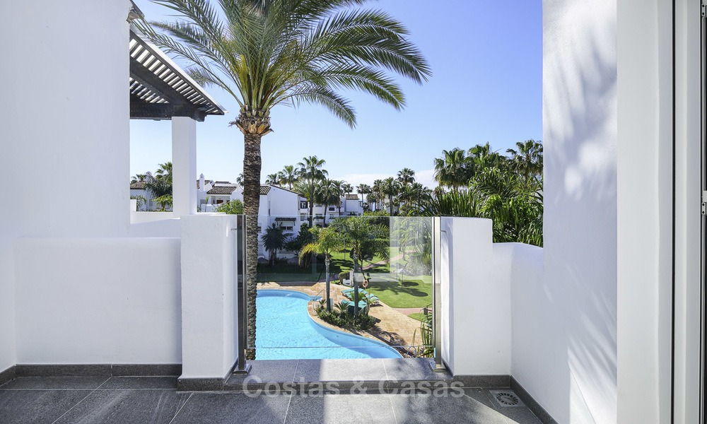 Modern, fully renovated apartment in a beachside complex for sale, New Golden Mile, between Marbella and Estepona 12234