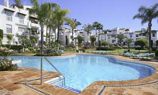 Modern, fully renovated apartment in a beachside complex for sale, New Golden Mile, between Marbella and Estepona 12240