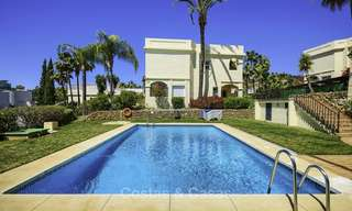 Charming, fully refurbished townhouse with sea and mountain views for sale, in a prestigious golf resort, Benahavis, Marbella 12213