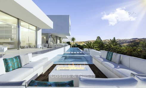 Stylish modern luxury villa in a highly valued golf resort for sale, Mijas, Costa del Sol 12354