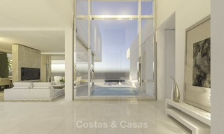 Stylish modern luxury villa in a highly valued golf resort for sale, Mijas, Costa del Sol 12356